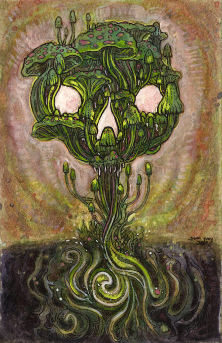 """Mushroom Season"" - by Sam Guay"