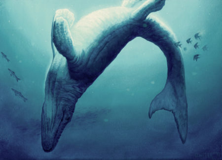 Mosasaurus by Owen William Weber