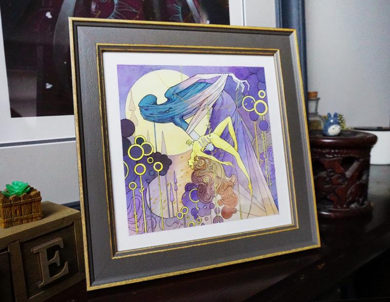 Threaded Unity original painting 6.5 x 6.5