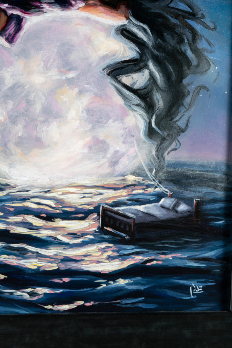 Adrift On The Ocean of Storms - by Tiffany Dae