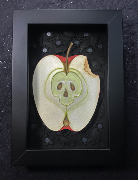 Poison Apple Framed