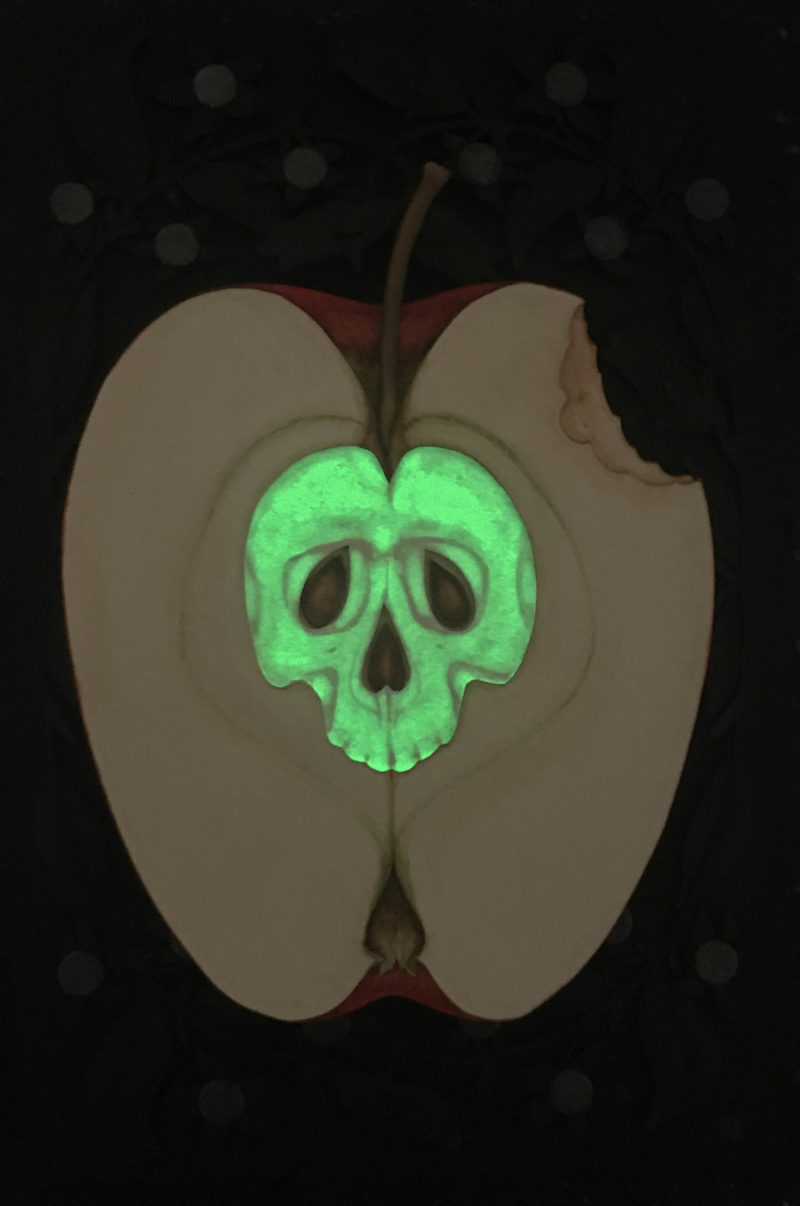 Glowing Poison Apple
