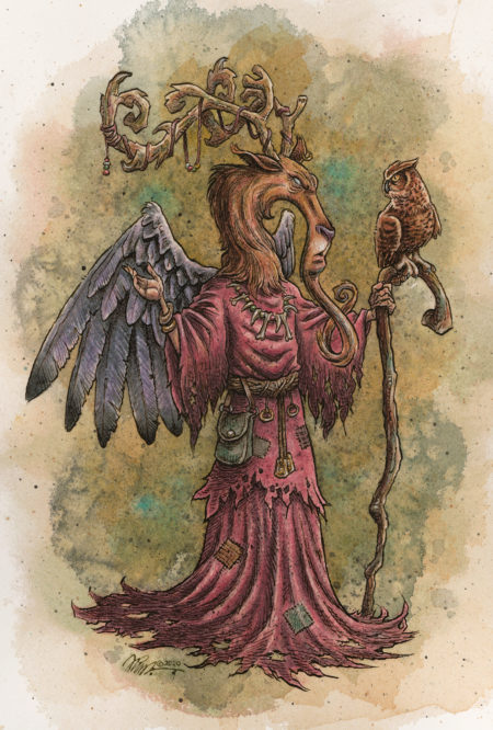 """Counsel With An Oracle"" By Fian Arroyo"