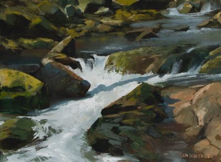 """Spring at Sanderson Brook"" - Stephen Sengebush"