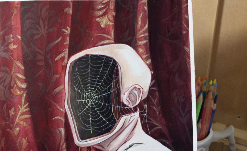 Nephila - by Myriam Tillson