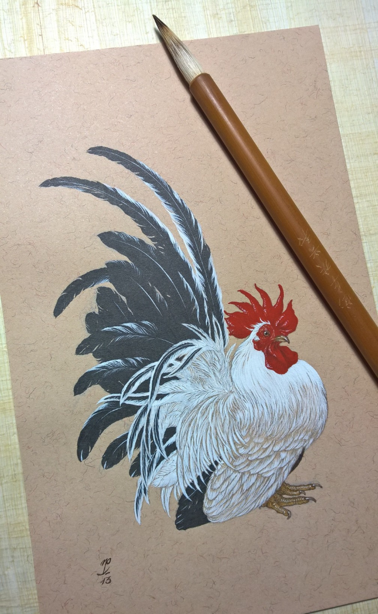 Japanese Bantam by Natee Puttapipat
