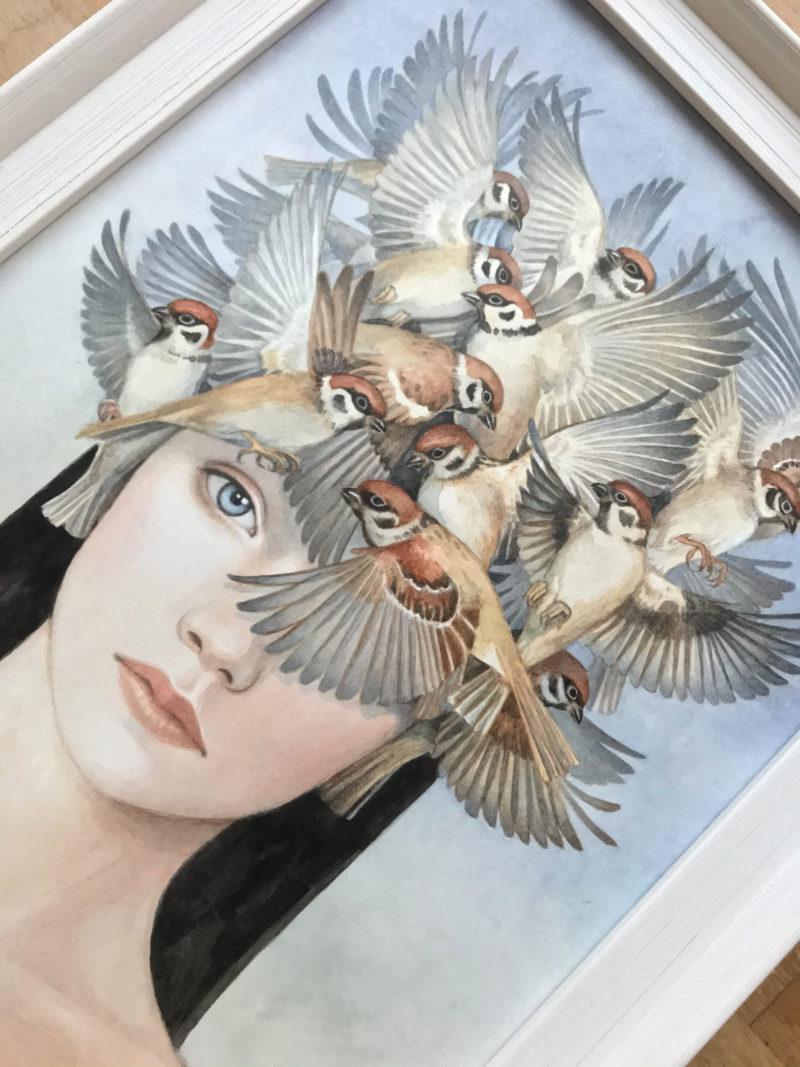 """""""Nostalgia for Freedom I"""" - by Angelika Rasmus"""