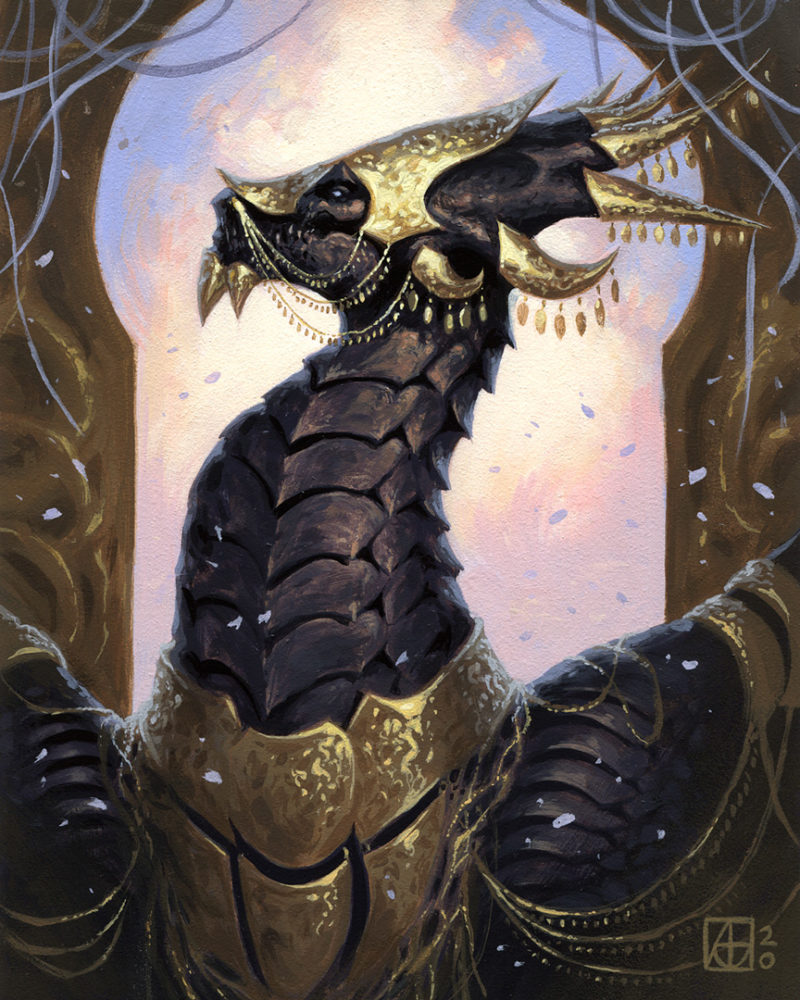 Dragon #49 - The Queen