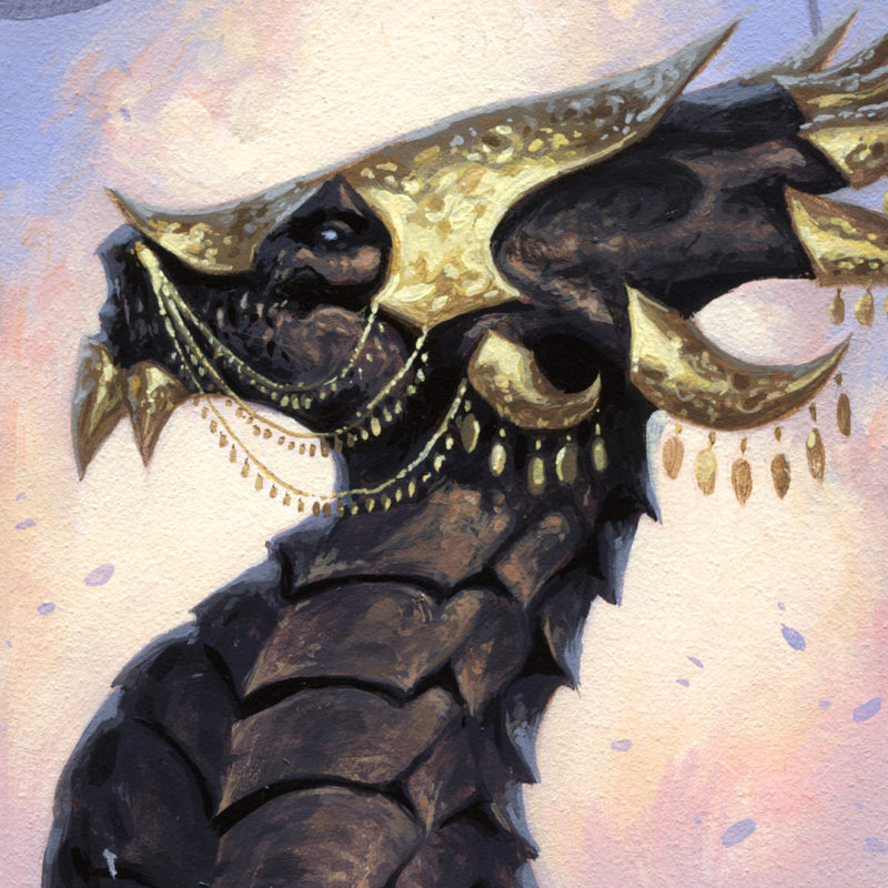 Dragon #49 - The Queen, Detail 01