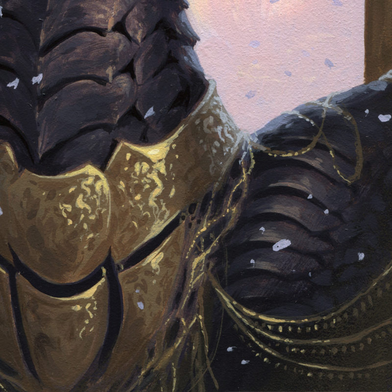 Dragon #49 - The Queen, Detail 02