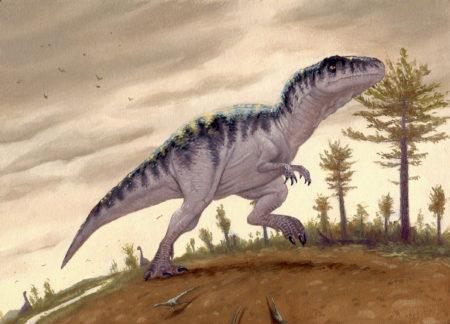 Giganotosaurus by Owen William Weber