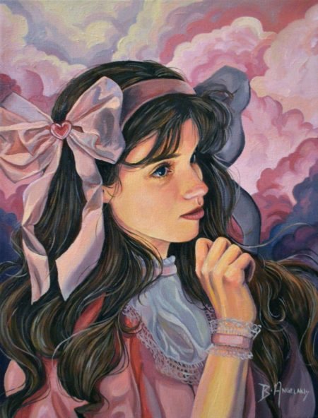 Enchanted, oil on canvas by Brianna Angelakis