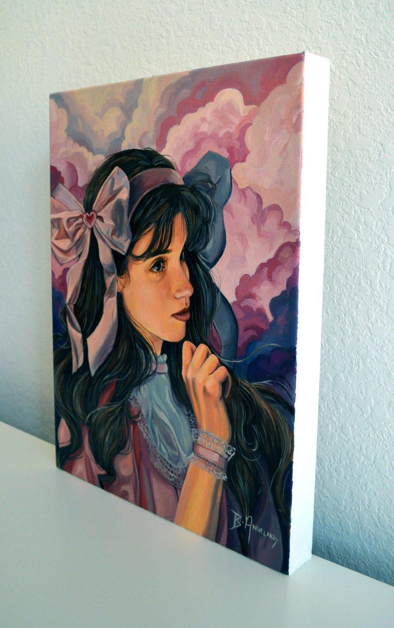 Enchanted, oil on canvas by Brianna Angelakis