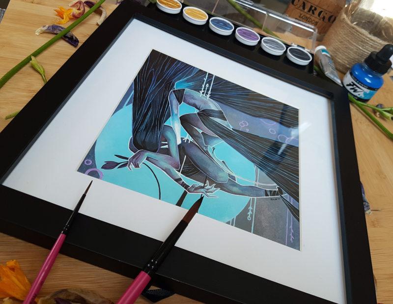 Lightest of touches framed 02