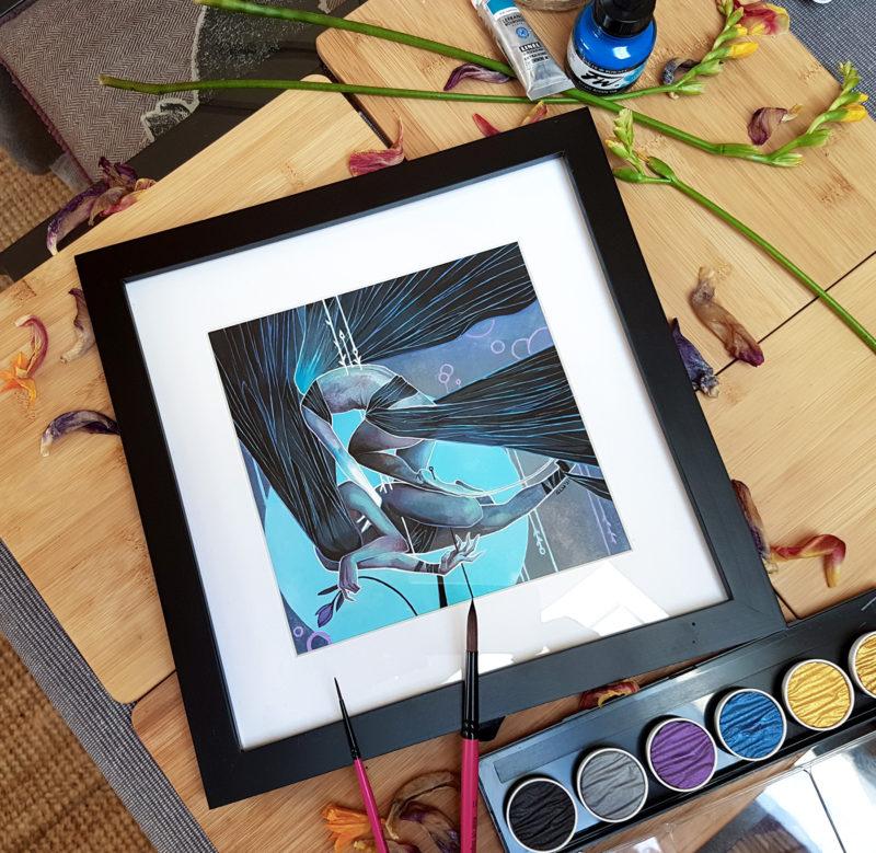 Lightest of touches framed 03
