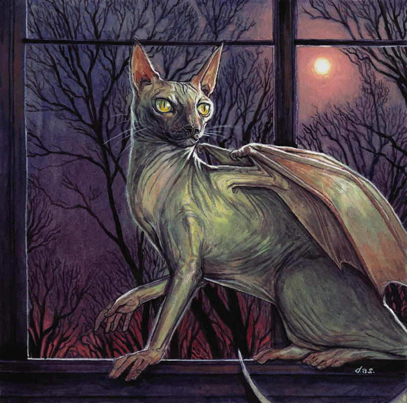 """April Night"" -- by Danny Schwartz"