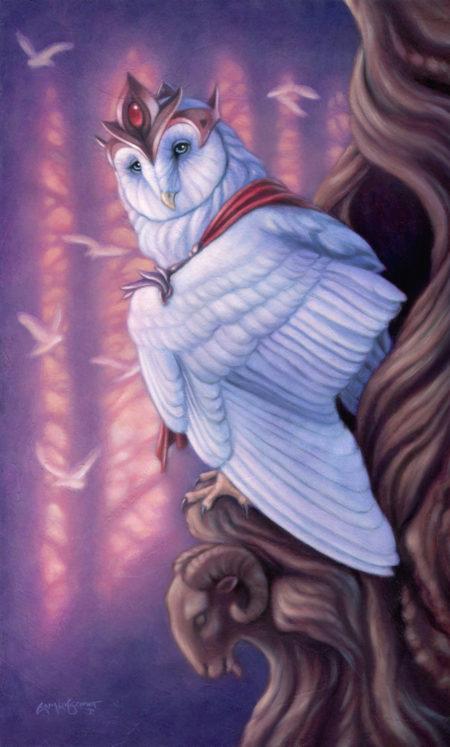 """""""Emperor Owl"""" by Erica Lyn Schmidt"""