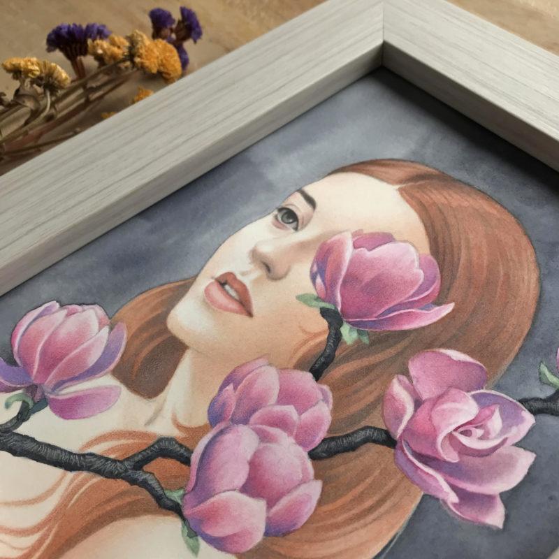 """Magnolia"" - by Angelika Rasmus"
