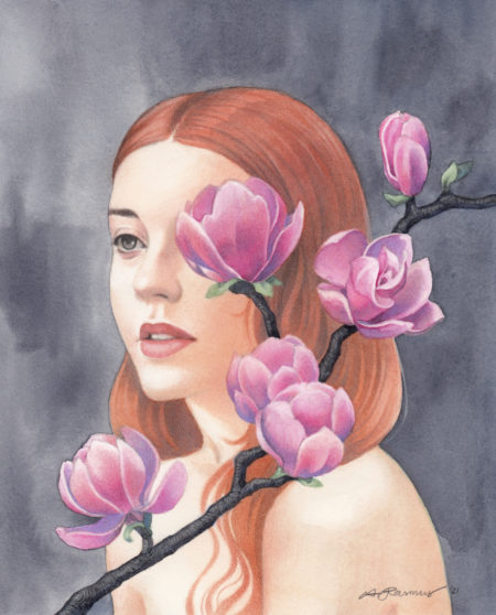 """Magnolia"" - by Angelika Rasmus"