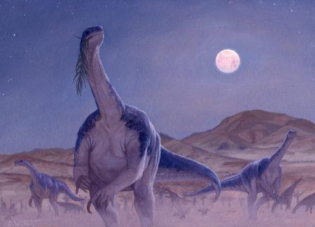 Plateosaurus by Owen William Weber