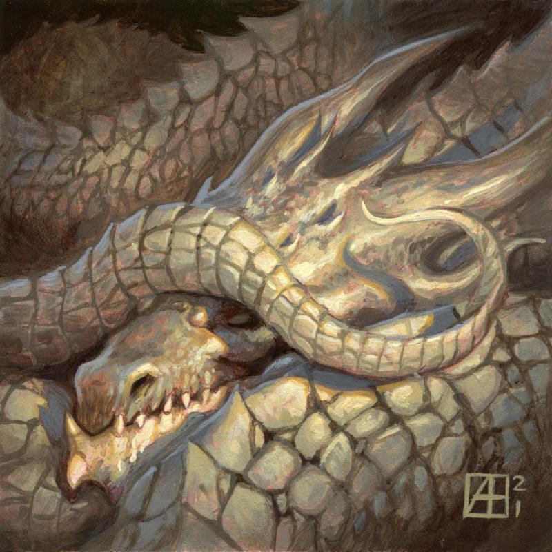 Dragon #50 - Nap Time