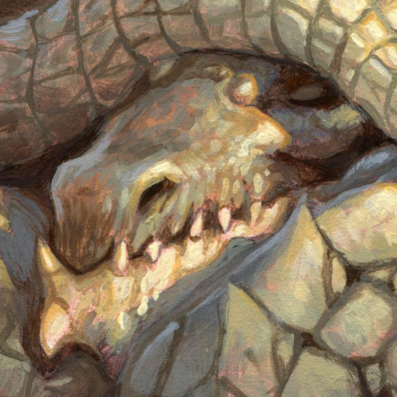 Dragon #50 - Nap Time, Detail