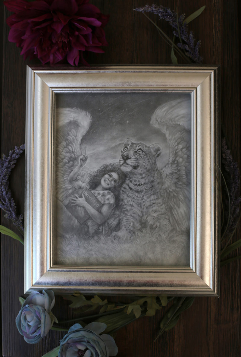 Photo of the framed piece
