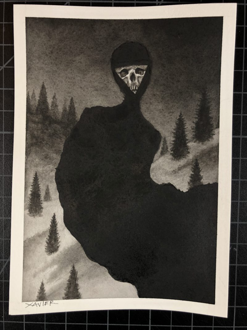 """""""Ghost in the Snow"""" - by Xavier"""