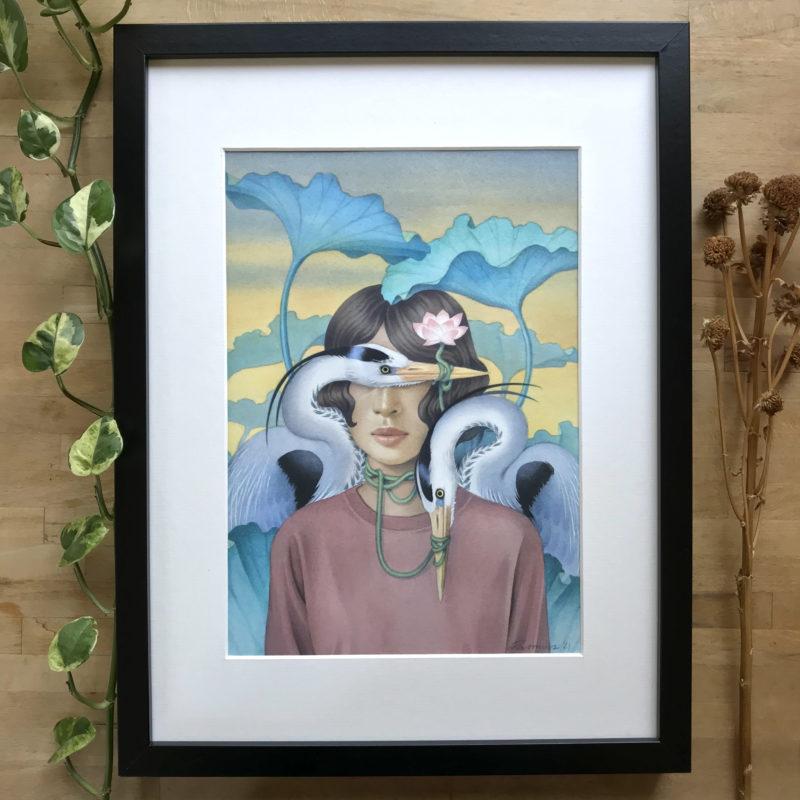 """""""Lotus"""" - by Angelika Rasmus"""