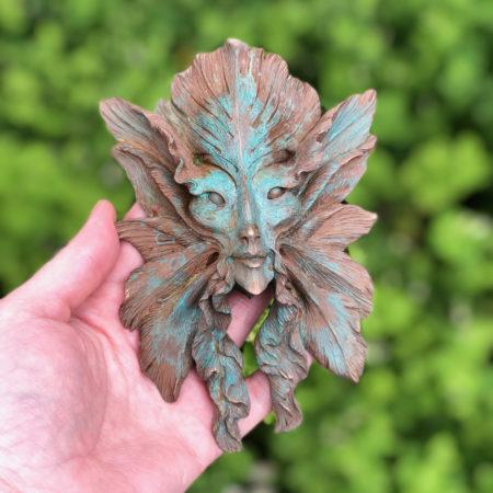 Fjura cold cast bronze sculpture