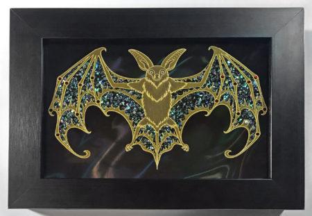 Bat Framed