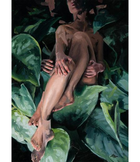 "Hilary Clarcq - ""Propagation"" - Oil Painting"