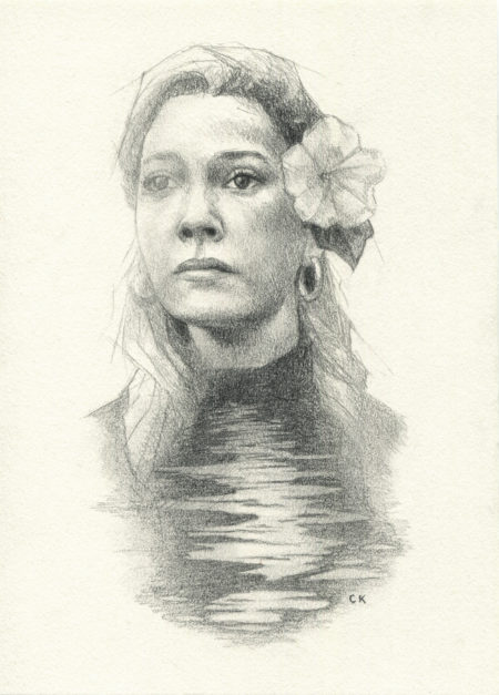 """Dani Clayton"" - by Christine Kornacki"