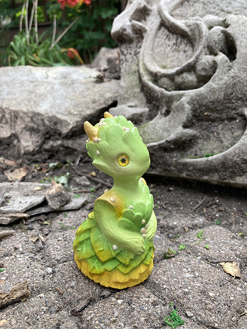 Queen Mab Resin Sculpture
