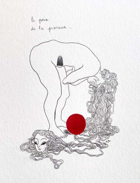 """""""Burdened"""" by eve pierrelune"""