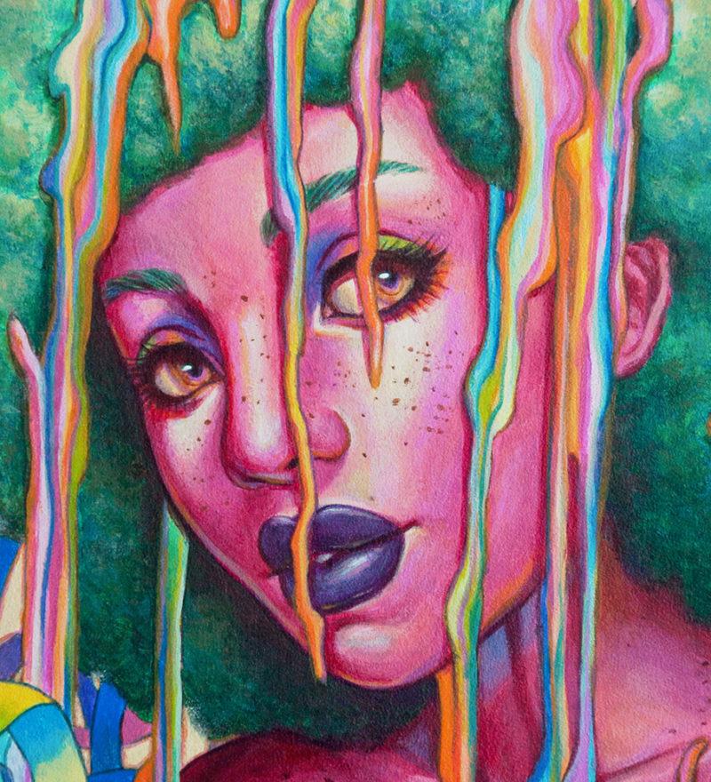 """""""Candy Coating"""" by Ejiwa 'Edge' Ebenebe - Closeup 01"""