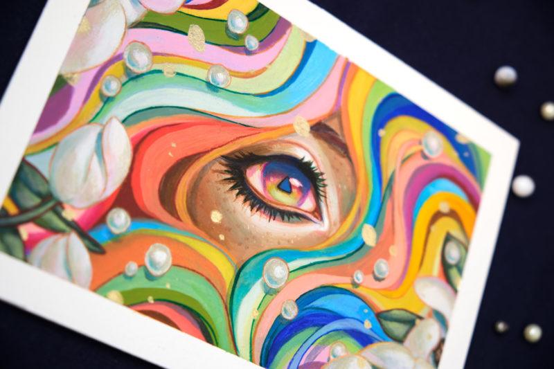 """""""Daydream"""" by Ejiwa 'Edge' Ebenebe - Angle 01"""