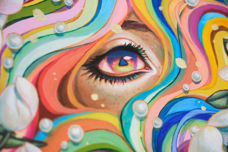 """""""Daydream"""" by Ejiwa 'Edge' Ebenebe - Closeup"""